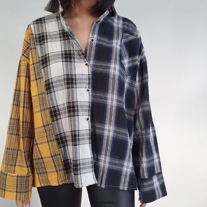 NWT Yesstyle Oversized Long Sleeve Flannel (BTS)